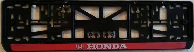"""Рамка на номер """"Хонда"""""""